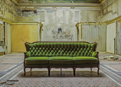 Lost Places, Sofa, Atmosphere, Decay, Mood, Ailing