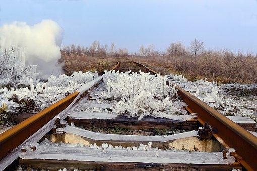 Railway, Rails, Train, Travel, Route, Ways, Steel