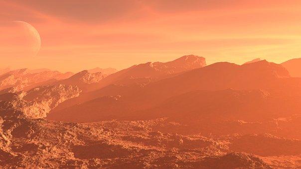 Alien, Landscape, Planet, Terrain