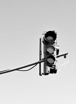 Traffic Light, Street, Transport, Urban, Red, Light
