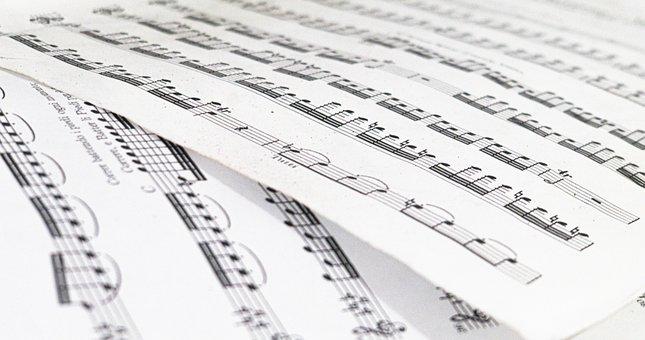 Music, Art, Pape, Concert, Vintage, Guitar, Sound