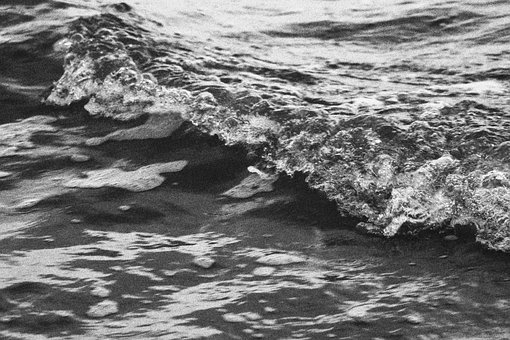 Water, Wave, Flow, Inject, Ocean, Nature, Seascape