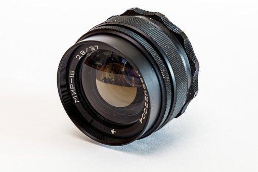 Lens, Mir-1v, Retro, Optics, Wide Angle