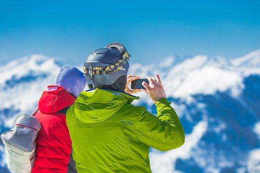 Mountains, Summit, Winter, Snow, Alpine, Landscape