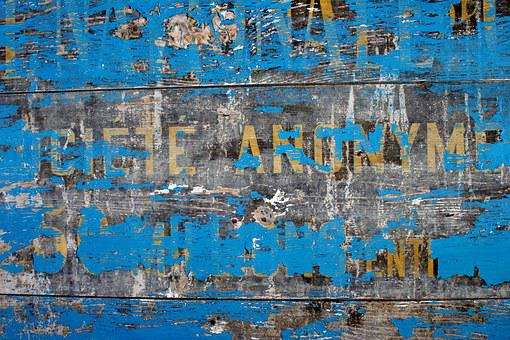 Old House, Background, Texture, Wood, Blue, Weathered