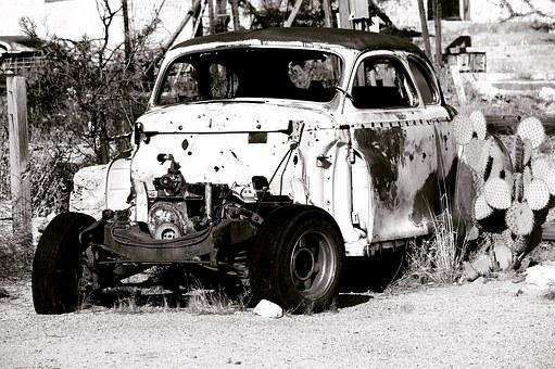 Old Car, Old, Car, Transportation, Vehicle, Auto