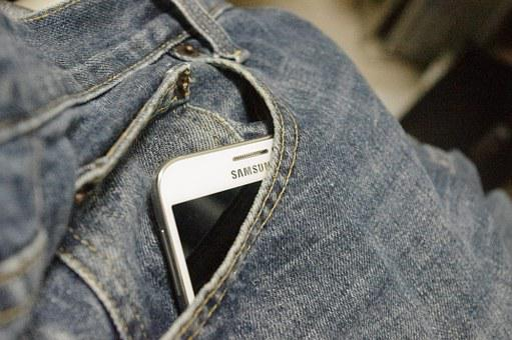 Denim Trousers, Phone, Men, Jeans, Pocket, Equipment