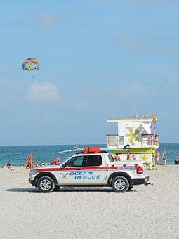 Miami, Beach, Florida, Water, Ocean, Miami Beach, South
