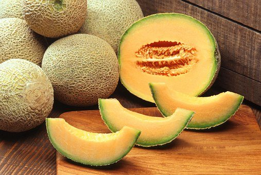 Muskmelons, Cantaloupes, Fruit, Melon, Fruits, Plants