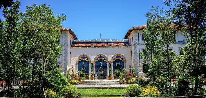 Vizcaya, Miami, Florida, Historic, Architecture, Museum
