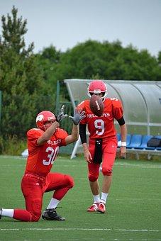 Football, American Football, Helmet, Jerseys