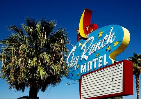 Las Vegas Motel, Freemont Street, Las Vegas
