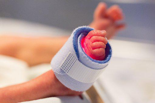 Foot, Preemie, Child, Newborn, Hospital, Intensive