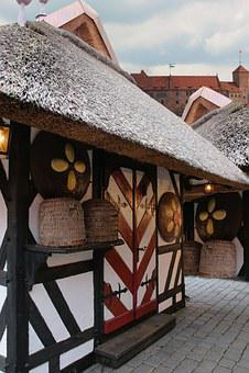 Nuremberg, Christmas Market, Gingerbread House