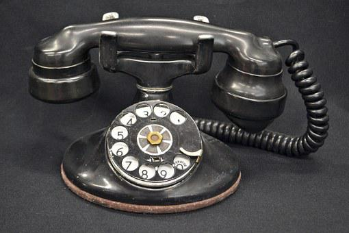 Old, Phone, Rotary, Rotary Phone, Antique, Dial