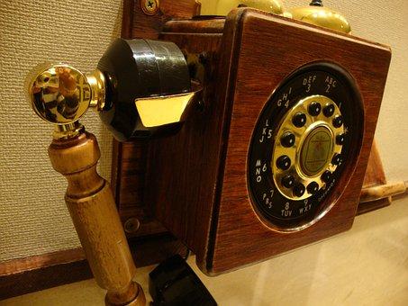 Phone, Old, Hotel, Telephony