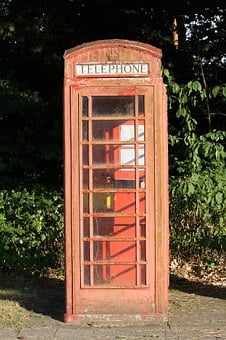 Phone Booth, Red, Dispensary, Telephone House