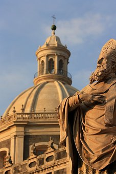 Catania, City, Church, Italy, Sicily