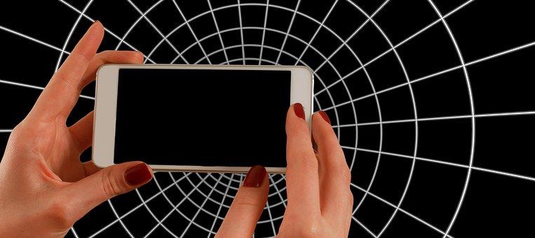 Smartphone, Hand, Phone, Mobile, Center, Camera