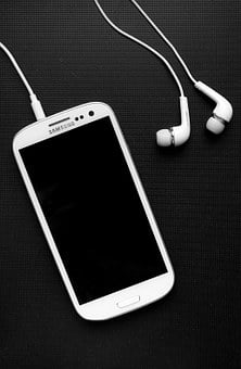 Samsung, Phone, Headphones, Smartphone, Mobile