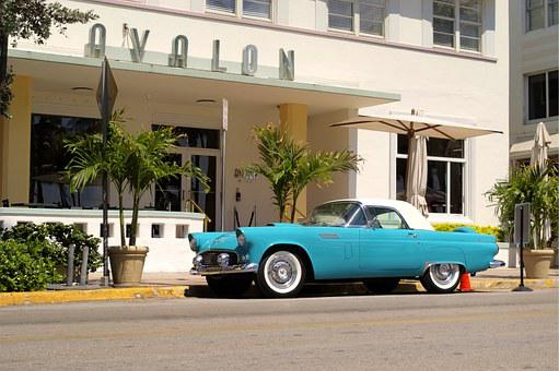 Car, Vintage, South Beach, Classic, Auto, Vehicle