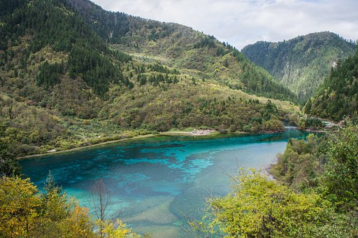 Southwest China, National Park, Jiuzhaigou