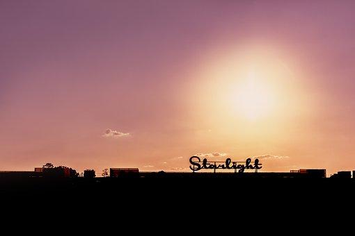 Building, Structure, Flare, Light, Sun, Sun Flare