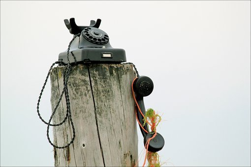 Phone, Communication, Connection, Telephone Line, Sky