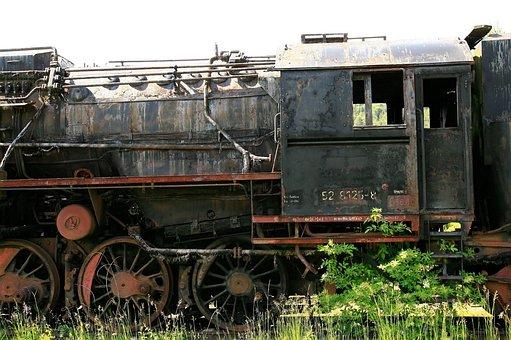 Steam Locomotive, Locomotive, Historically, Train