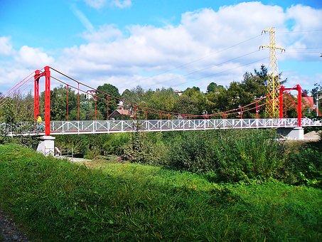 Bridge, Building, Steel Frame, Architecture, View