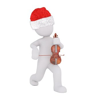 White Male, 3d Model, Figure, White, Christmas