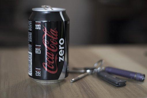 Desk, Cola, Coke, Office, Wooden, Workplace