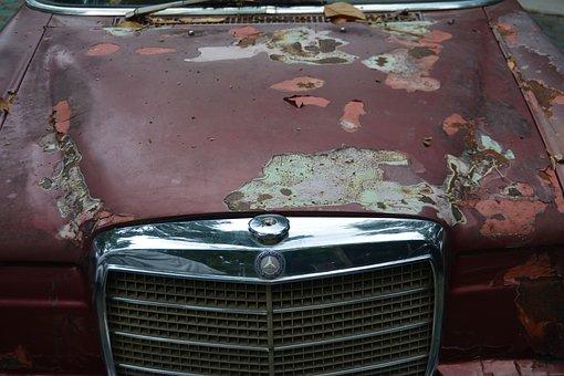 Old Banger, Car, Banger, Wreck, Old, Accident, Derelict
