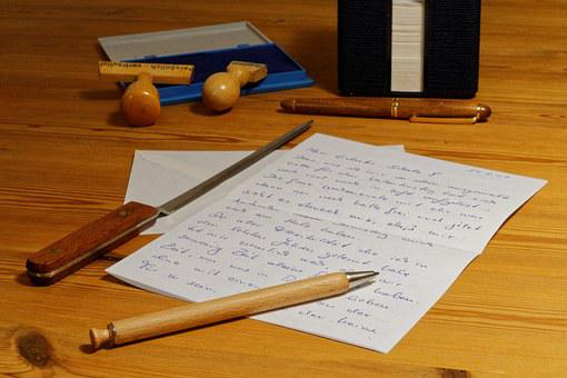 Letters, Pen, Write, Paper, Message, Writing Tool
