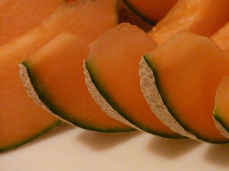 Cantaloupe, Melon, Yellow, Canary, Amarillo, Tendral