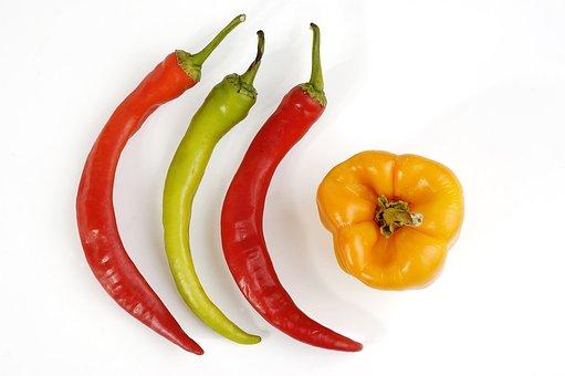 Acrid, Asian, Burn, Capsicum, Caustic, Cayenne, Chili