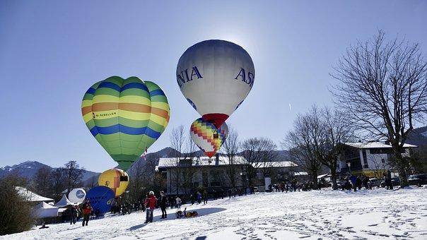 Balloon, Tegernsee, Hot Air Balloon, Ballooning
