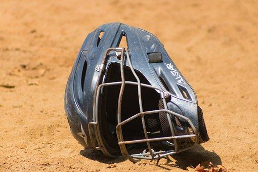 Baseball, Mask, Helmet, Sport, Metal, Team, Soil, Earth
