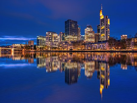 Frankfurt, City, Skyscraper, Skyline, Building, Germany