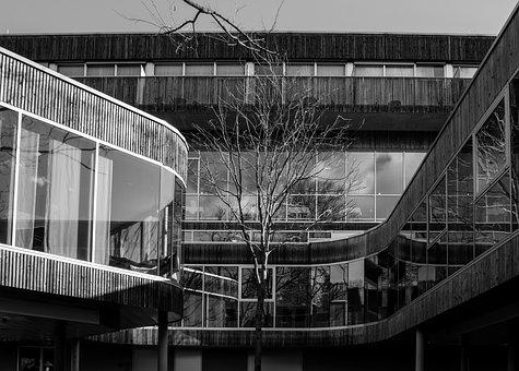 Modern, Architecture, Building, Hotel, Bad Gleichenberg