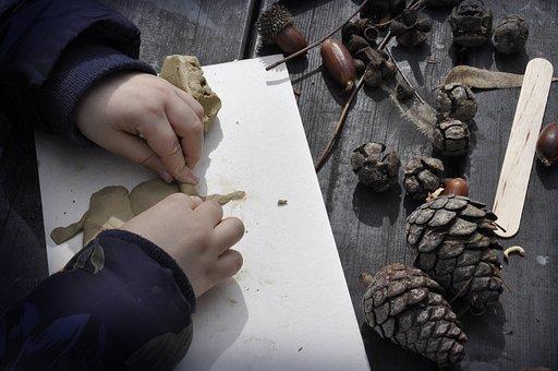 Craft, Kid, Hands, Children, Hand, Community, Clay