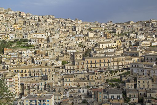 Country, Edit, Sicily, Italy