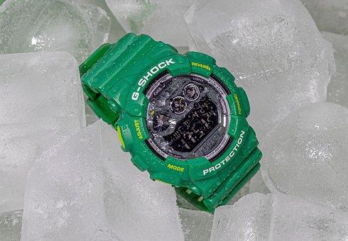 Casio, G-shock, Digital, Digital Clock, Wrist Watch