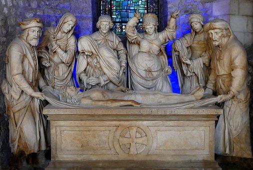 Reims, Cathedral, Saint-Remi, Entombment