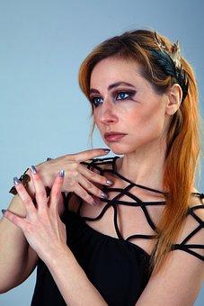 Makeup, Eye Shadow, Makeup Artist, Gothic, Portrait