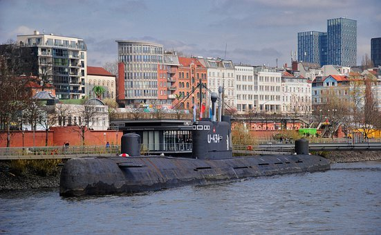 Port, Hamburg, Hanseatic City, Northern Germany, Elbe