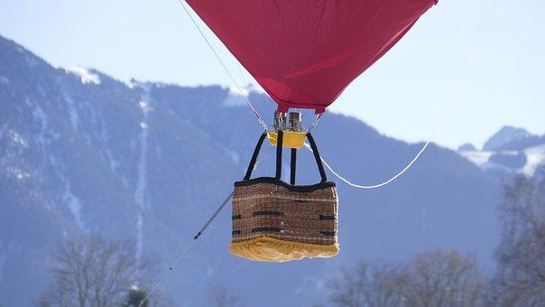 Balloon, Tegernsee, Hot Air Balloon