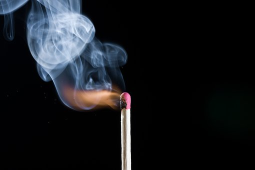 Match, Fire, Smoke, Ignite, Burn, Matches, Sulfur