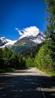 Dombay, Mountains, Landscape, Nature, Mountain, Sky