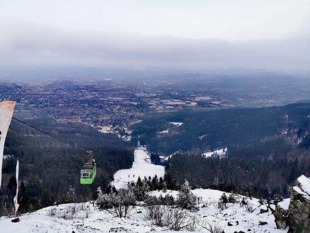 Ještěd, Cable Car, Liberec, Rich Mountain
